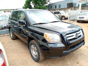 Honda Pilot 2008 EX-L 4x2 (3.5L 6cyl 5A) Black | Cars for sale in Lagos State, Ikeja