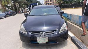 Honda Accord 2005 Sedan EX Automatic Black   Cars for sale in Lagos State, Surulere