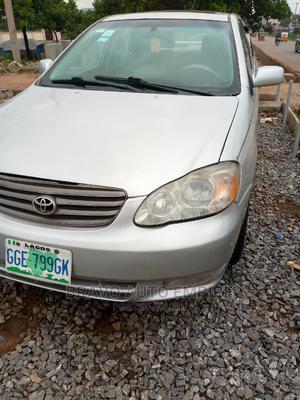 Toyota Corolla 2003 Sedan Silver | Cars for sale in Abuja (FCT) State, Gudu