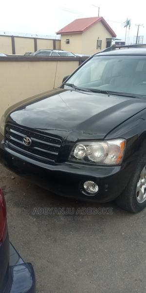 Toyota Highlander 2001 2.4 Black | Cars for sale in Lagos State, Oshodi