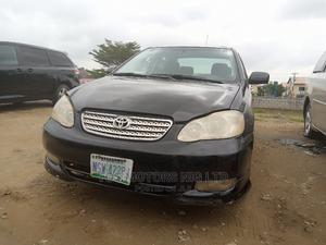 Toyota Corolla 2003 Sedan Black | Cars for sale in Abuja (FCT) State, Gwarinpa