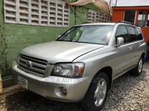 Toyota Highlander 2006 Limited V6 Silver | Cars for sale in Lagos State, Agege