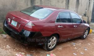 Honda Accord 2006 2.4 Type S Automatic Red   Cars for sale in Lagos State, Magodo