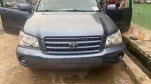 Toyota Highlander 2004 V6 FWD Blue | Cars for sale in Lagos State, Gbagada