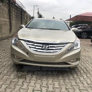 Hyundai Sonata 2011 Gold | Cars for sale in Lagos State, Magodo