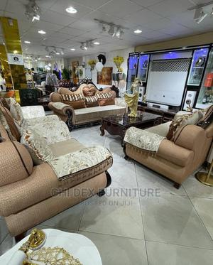 High Quality Complete Set Royal Sofa Chair | Furniture for sale in Lagos State, Victoria Island