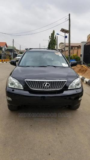Lexus RX 2004 300 4WD Black   Cars for sale in Lagos State, Magodo