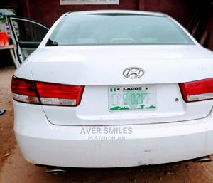Hyundai Sonata 2007 3.3 V6 GLS White | Cars for sale in Lagos State, Ikorodu