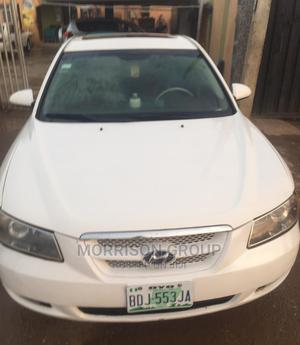 Hyundai Sonata 2007 White | Cars for sale in Lagos State, Ojodu