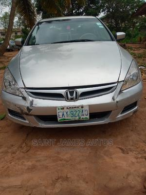 Honda Accord 2007 Silver | Cars for sale in Lagos State, Ikorodu