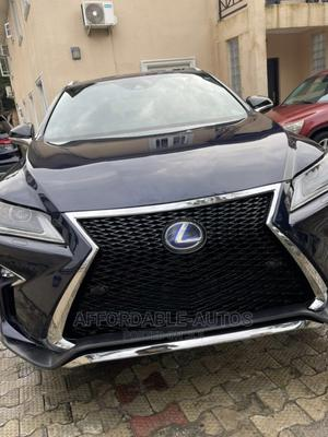 Lexus RX 2017 350 F Sport AWD Blue   Cars for sale in Lagos State, Lekki