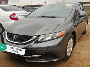 Honda Civic 2013 Gray   Cars for sale in Abuja (FCT) State, Nyanya