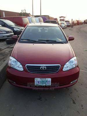 Toyota Corolla 2006 Red   Cars for sale in Anambra State, Onitsha