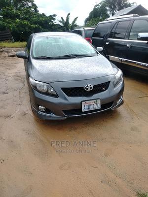 Toyota Corolla 2009 1.8 Advanced Black | Cars for sale in Delta State, Warri