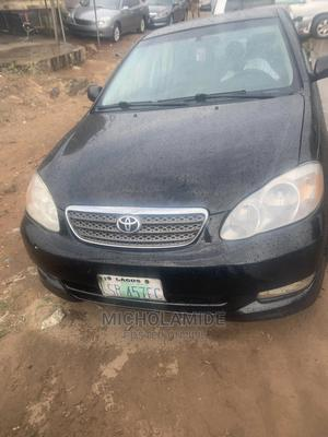 Toyota Corolla 2004 1.4 D Automatic Black   Cars for sale in Lagos State, Ikeja