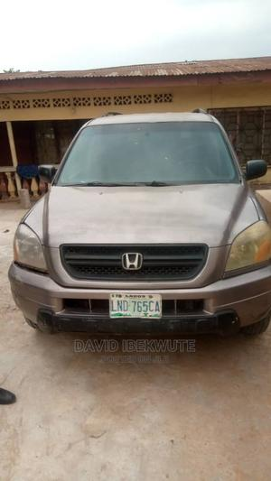 Honda Pilot 2003 Brown | Cars for sale in Anambra State, Idemili