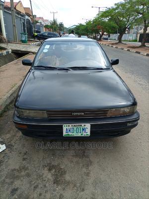 Toyota Corolla 1992 Sedan Automatic Black | Cars for sale in Lagos State, Magodo