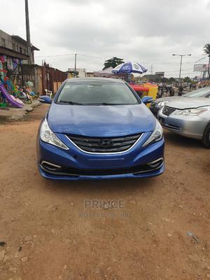 Hyundai Sonata 2014 Blue   Cars for sale in Lagos State, Alimosho