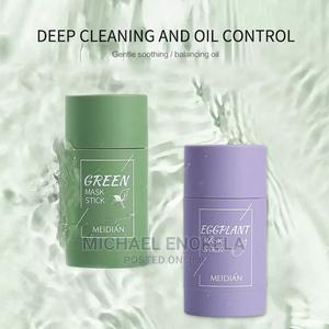MEIDIAN Green Tea Mask Solid Face Mask Stick Oil Control Moi | Skin Care for sale in Abuja (FCT) State, Galadimawa