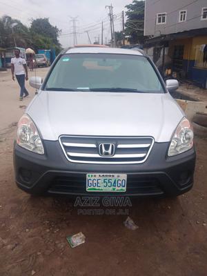 Honda CR-V 2005 200i I-Vtec 4x4 Silver | Cars for sale in Lagos State, Surulere