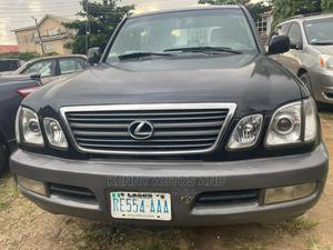Lexus LX 2002 470 AWD Black | Cars for sale in Lagos State, Surulere