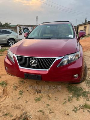 Lexus RX 2012 350 AWD Red   Cars for sale in Lagos State, Ikeja