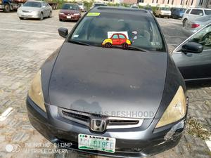 Honda Accord 2005 Sedan EX Automatic Gray | Cars for sale in Lagos State, Ajah