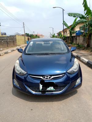 Hyundai Elantra 2013 Blue | Cars for sale in Lagos State, Ifako-Ijaiye