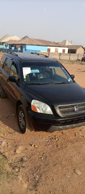 Honda Pilot 2005 EX-L 4x4 (3.5L 6cyl 5A) Black | Cars for sale in Abuja (FCT) State, Central Business District