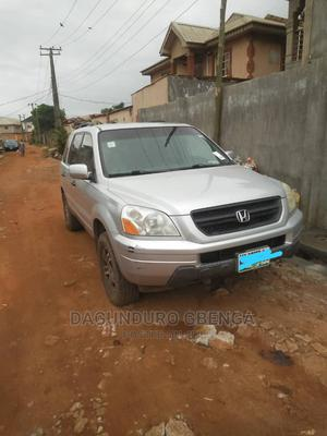 Honda Pilot 2003 EX 4x4 (3.5L 6cyl 5A) Silver | Cars for sale in Lagos State, Alimosho