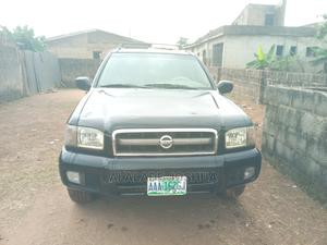 Nissan Pathfinder 2003 SE AWD SUV (3.5L 6cyl 4A) Black | Cars for sale in Lagos State, Alimosho