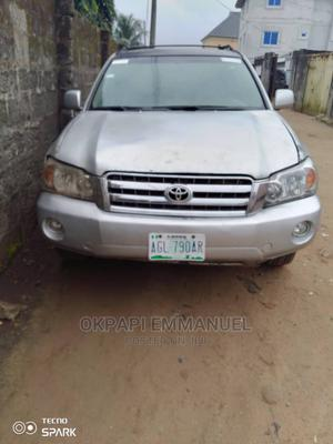 Toyota Highlander 2003 Limited V6 AWD Silver | Cars for sale in Rivers State, Obio-Akpor