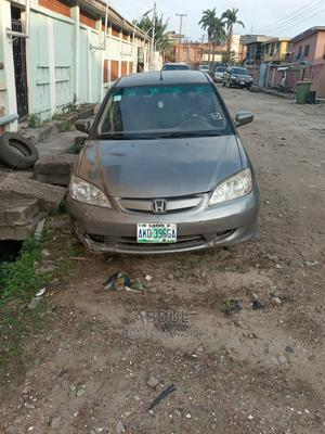 Honda Civic 2005 1.4i LS Gray | Cars for sale in Lagos State, Surulere