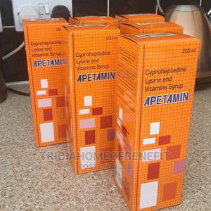 Apetamin Syrup for Weightgain   Vitamins & Supplements for sale in Lagos State, Isolo