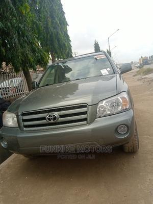 Toyota Highlander 2005 V6 Green   Cars for sale in Lagos State, Ifako-Ijaiye