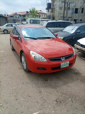 Honda Accord 2005 Coupe EX V6 Red | Cars for sale in Lagos State, Ikoyi