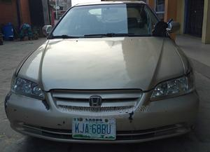 Honda Accord 2003 Automatic Gold | Cars for sale in Lagos State, Ifako-Ijaiye