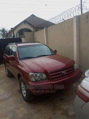 Toyota Highlander 2003 Red   Cars for sale in Lagos State, Ifako-Ijaiye