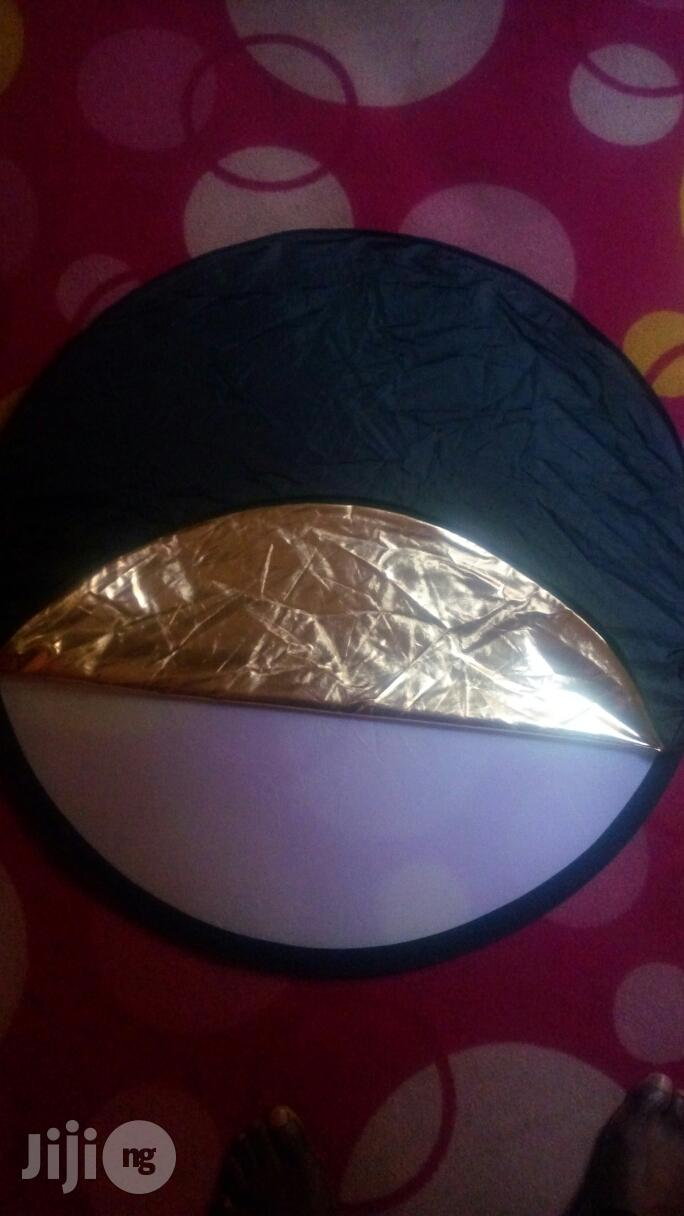 Reflector 5 In 1 Video&Photo Collapsible Reflector Disc | Accessories & Supplies for Electronics for sale in Ikeja, Lagos State, Nigeria