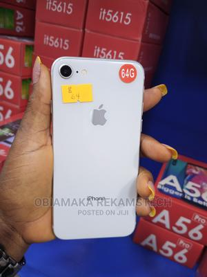 Apple iPhone 8 64 GB Silver   Mobile Phones for sale in Lagos State, Ikeja