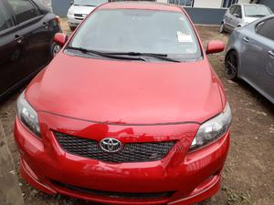 Toyota Corolla 2010 Red | Cars for sale in Lagos State, Alimosho