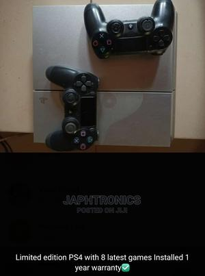 Ps4 Limited Edition With Hacked With 8 Games | Video Game Consoles for sale in Edo State, Ekpoma