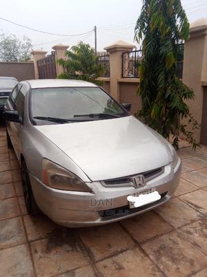 Honda Accord 2003 Automatic Silver | Cars for sale in Ogun State, Sagamu