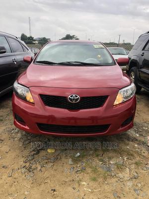 Toyota Corolla 2010 Red   Cars for sale in Lagos State, Amuwo-Odofin