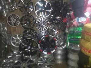 Tokunbo Alloy and Brand New Alloy With Tyre | Vehicle Parts & Accessories for sale in Oyo State, Oyo