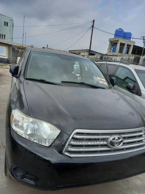 Toyota Highlander 2008 Black   Cars for sale in Lagos State, Ogba