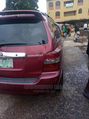 Toyota Highlander 2005 Red   Cars for sale in Lagos State, Ojota