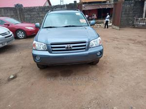 Toyota Highlander 2006 V6 Blue   Cars for sale in Lagos State, Isolo