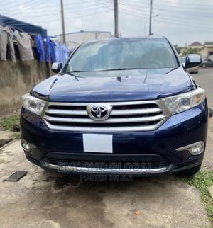Toyota Highlander 2013 Limited 3.5l 4WD Blue   Cars for sale in Abuja (FCT) State, Garki 2