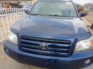 Toyota Highlander 2007 Limited V6 4x4 Blue   Cars for sale in Lagos State, Ikeja